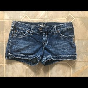 Silver Marti Jean Shorts